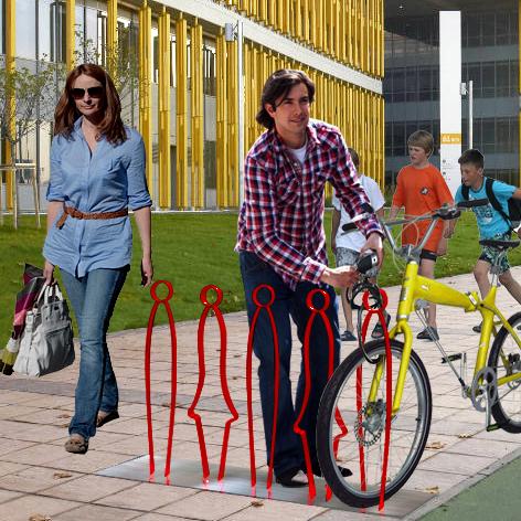 ladiesandg-fahrradständer